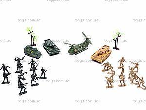 Военный набор техники с солдатиками, 166F-3