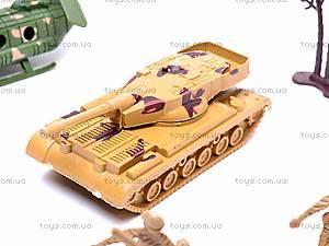 Военный набор техники с солдатиками, 166F-3, игрушки