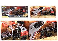 Военный набор с внедорожником (D3109-20), D3109-20, игрушки