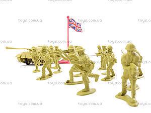 Игрушечный военный набор с солдатиками, 8017, фото