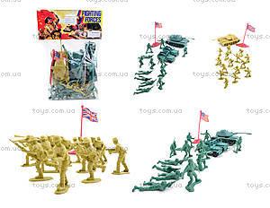Игрушечный военный набор с солдатиками, 8017