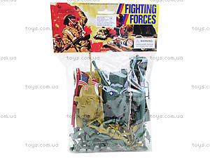 Игрушечный военный набор с солдатиками, 8017, игрушки