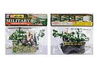 Военный набор с техникой, 8626, toys