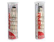 Воланчик перьевой белый, 6 штук, BT-1616, купить