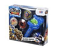 Волчок Auldey Infinity Nado Атлетик Glare Aspis с устройством запуска, YW624504, toys