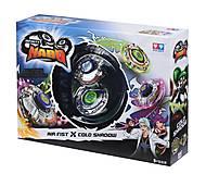 Волчок Auldey Infinity Nado Сплит Air Fist и Cold Shadow с устройством запуска, YW624603, детский