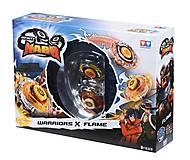 Волчок Auldey Infinity Nado Сплит Battle Buddha и Blast Flame с устройством запуска, YW624601, іграшки
