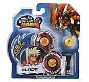 Волчок Auldey Infinity Nado Стандарт «Fiery Blade» с устройством запуска, YW624302