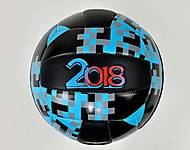 Волейбольный мяч 2018 (голубой), F21948
