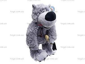 Музыкальная мягкая игрушка «Волк», F-3830, фото