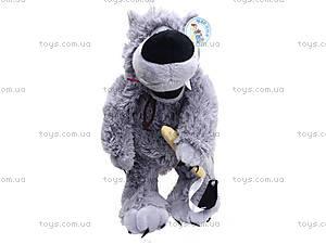 Музыкальная мягкая игрушка «Волк», F-3830, цена