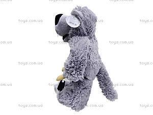 Музыкальная мягкая игрушка «Волк», F-3830, игрушки