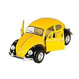 Volkswagen Classical Beetle желтый, KT50 WE, отзывы