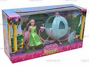 Волшебная карета, с лошадкой и куклой, 28908A, цена