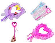 Волшебная палочка «Сердце» 7 видов, CLG17117