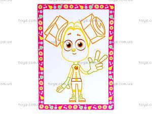 Волшебные контуры для деток «Фиксики», VT4402-21, детские игрушки