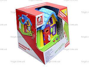 Развивающий центр «Волшебный теремок», EQ80394R, игрушки