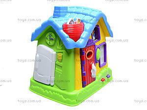 Развивающий центр «Волшебный теремок», EQ80394R, детские игрушки