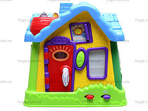 Развивающий центр «Волшебный теремок», EQ80394R, магазин игрушек