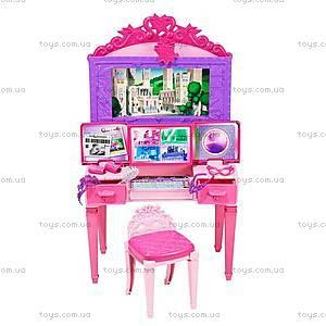 Волшебный туалетный столик из мультфильма «Barbie Суперпринцесса», CDY64, фото