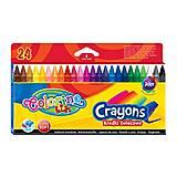 Восковые мелки 24 цвета, 13895PTR, іграшки