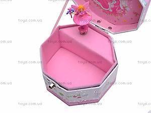 Восьмиугольная шкатулка с балериной, PC-039, купить