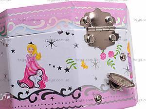 Восьмиугольная шкатулка с балериной, PC-039, детские игрушки