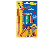 Воздушные фломастеры-аэрографы Malinos Bright 5 шт, MA-300918, игрушки