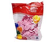 Воздушные шарики «Розовое сердце», H60