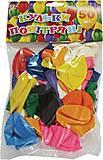 Воздушные шары 30 см, 50 штук, 701598, іграшки