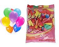 """Воздушные шарики """"Happy Party"""", 100 штук, HPD25, отзывы"""