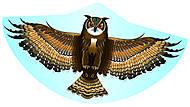 Воздушный змей «Сова», 1193, доставка