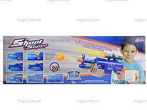 Детский автомат с дартсом с пулями, 358-1, игрушки