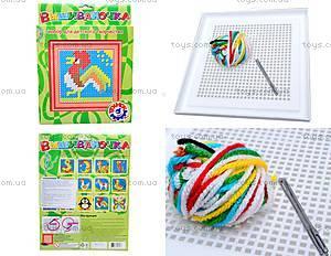 Набор для детского творчества «Вышивка Петушок», 3183