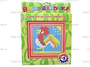Набор для детского творчества «Вышивка Петушок», 3183, цена