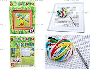 Вышивка для детей «Птичка», 0441