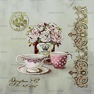 Вышивка бисером «Чайные розы», ВБ 1001