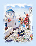 Вышивка бисером «Греческие каникулы», ВБ 1042, фото