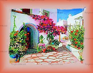 Вышивка бисером «Греческий дворик», ВБ 1012