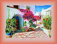 Вышивка бисером «Греческий дворик», ВБ 1012, фото