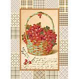 Вышивка бисером «Корзинка смородины», ВБ 2037, фото