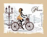 Вышивка бисером «По улицам Парижа», ВБ 1038