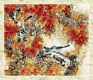 Вышивка бисером «Птички на ветке», ВБ 1004