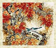 Вышивка бисером «Птички на ветке», ВБ 1004, фото