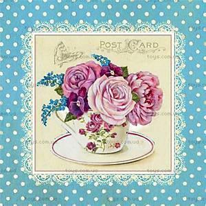 Вышивка бисером «Розы шебби шик», ВБ 1030