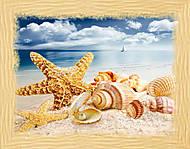 Вышивка бисером «Сокровища моря», ВБ 1037