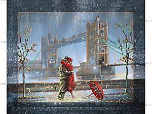 Вышивка бисером «Свидание у Тауэрского моста», ВБ 1005