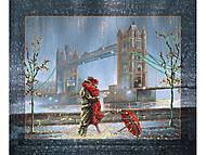 Вышивка бисером «Свидание у Тауэрского моста», ВБ 1005, фото
