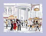 Вышивка бисером «Уличное кафе», ВБ 1029, купить