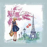 Вышивка бисером «Весна в Париже», ВБ 1032